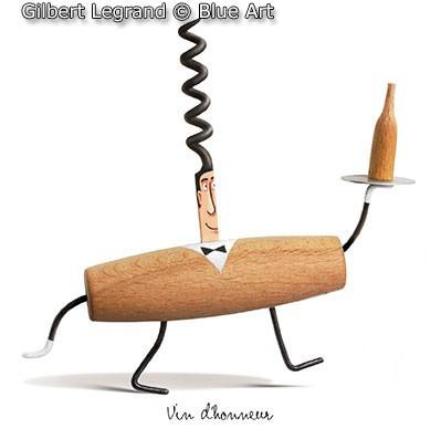 Gilbert Legrand. Vin d'honneur.