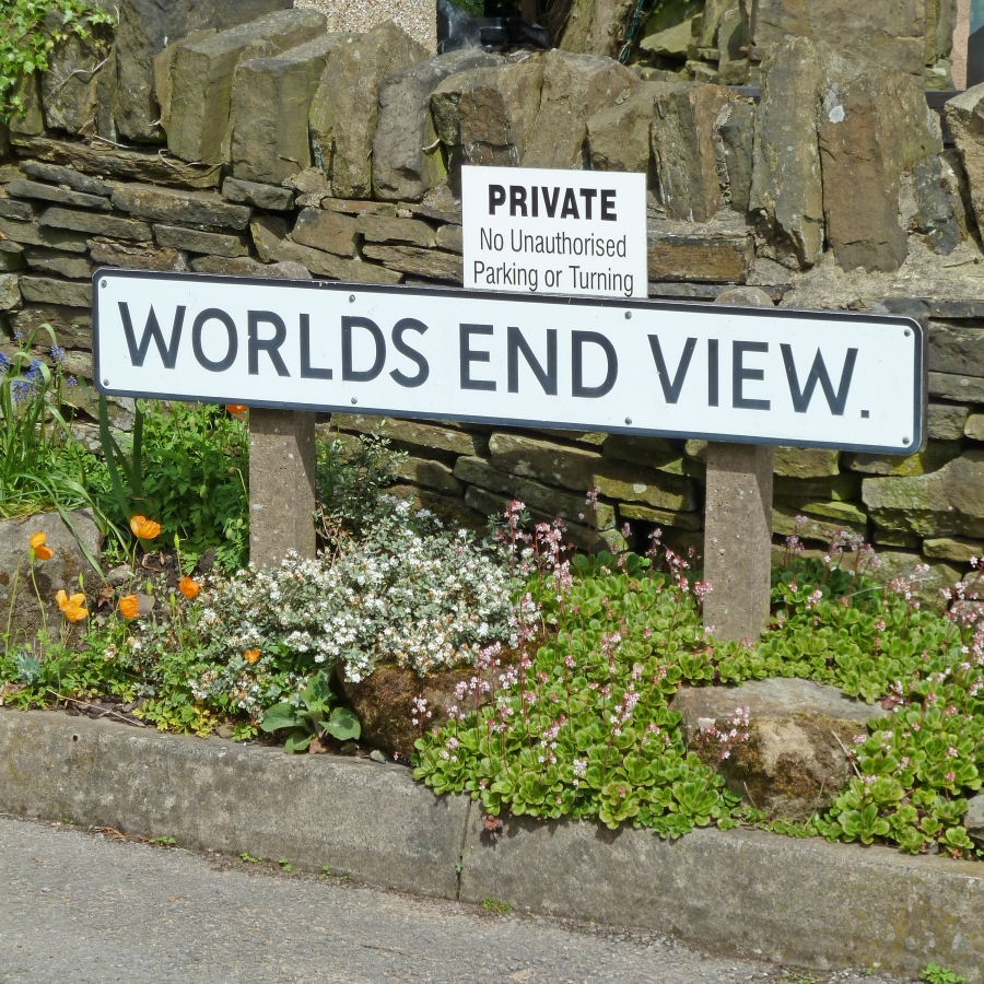 photo credit: The End of the World is Nigh (no parking or turning) via photopin (license)