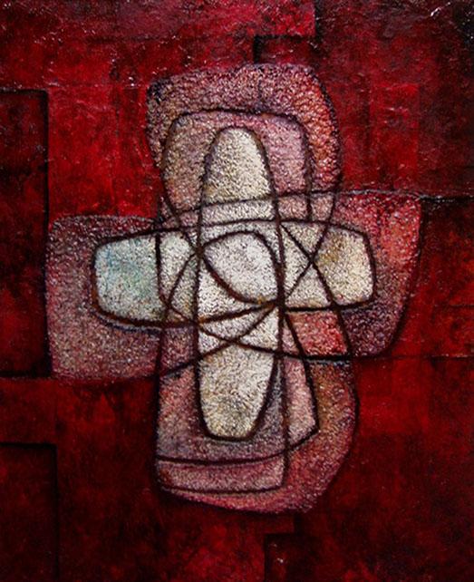 Sostenido en tu gracia II. Obra de Antonio Soto