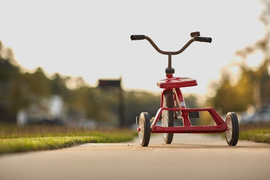 Triciclo. Unsplash.
