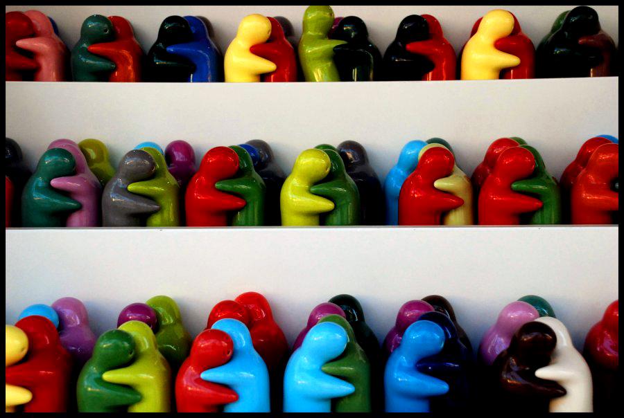 Abrazos. Foto: Severina Askatasuna