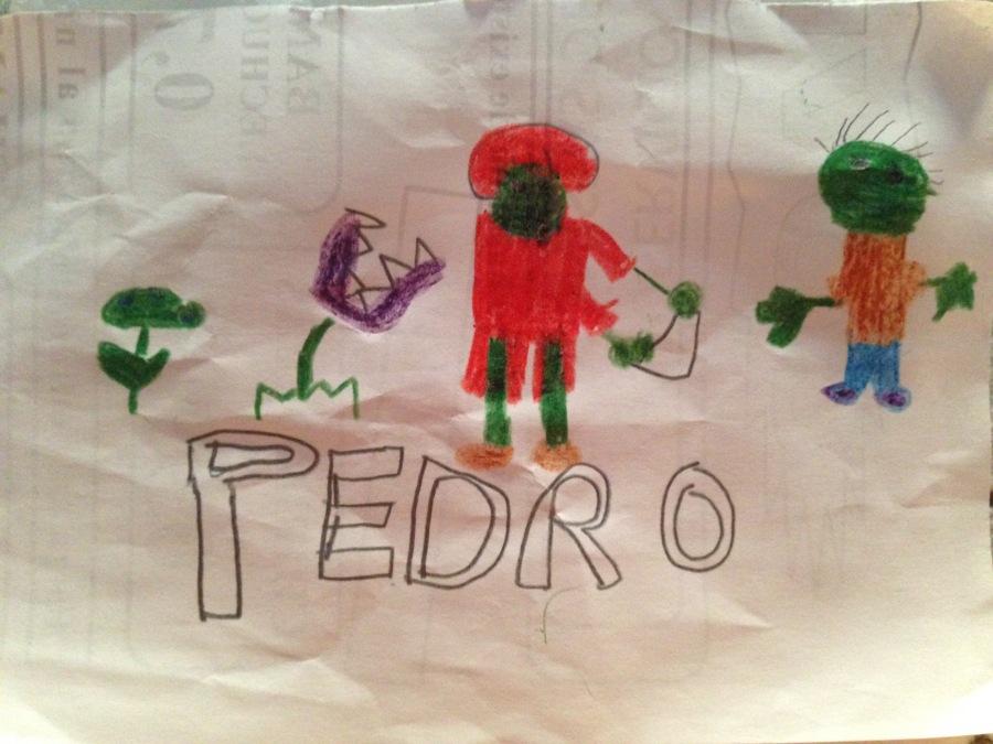 Pedro. 6 años.