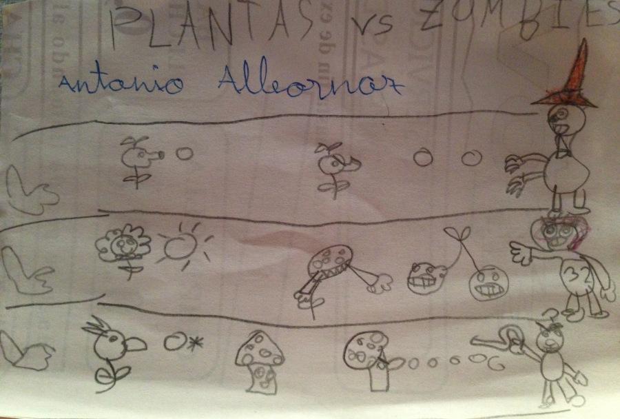 Antonio. 7 años.