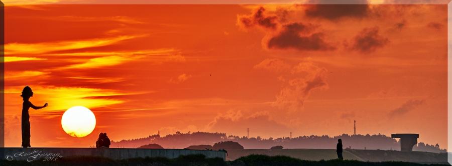 Puesta de sol. Foto: Rucabe Fotografía.Todos los derechos reservados.
