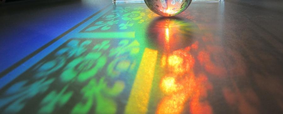 Rolling on rainbows. Foto: Margeois.Todos los derechos reservados.