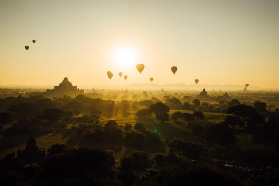 Bagan. Foto: Judith Scharnowski.CC0 Public Domain