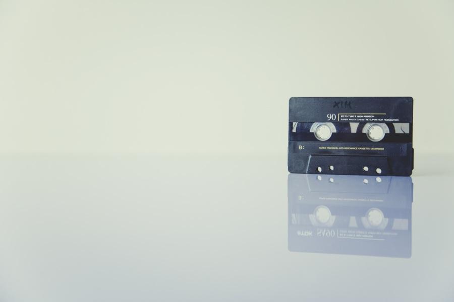 Cassette. Foto: Markus Spiske . CC0 Public Domain.