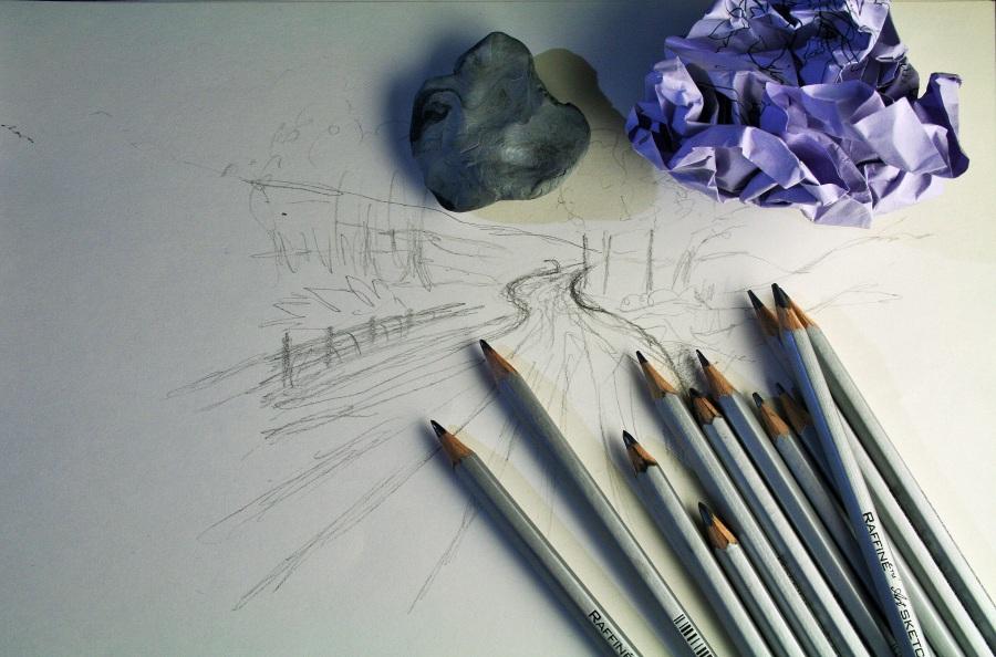 Art pencils. Foto: Lynn Greyling. CC0 Public Domain.