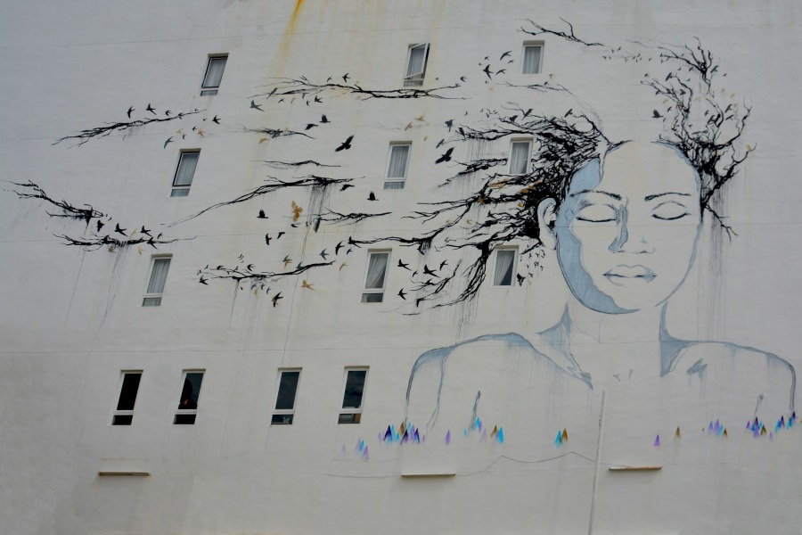 Street art. Foto: Dean Moriarty. CC0 Public Domain.