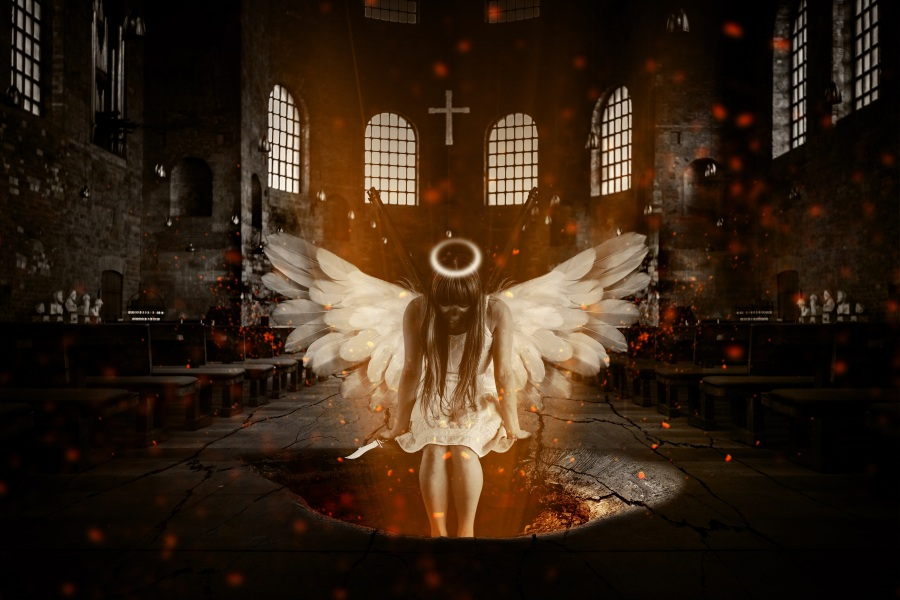 Angel. Foto: Jonny Lindner. CC0 Public Domain.