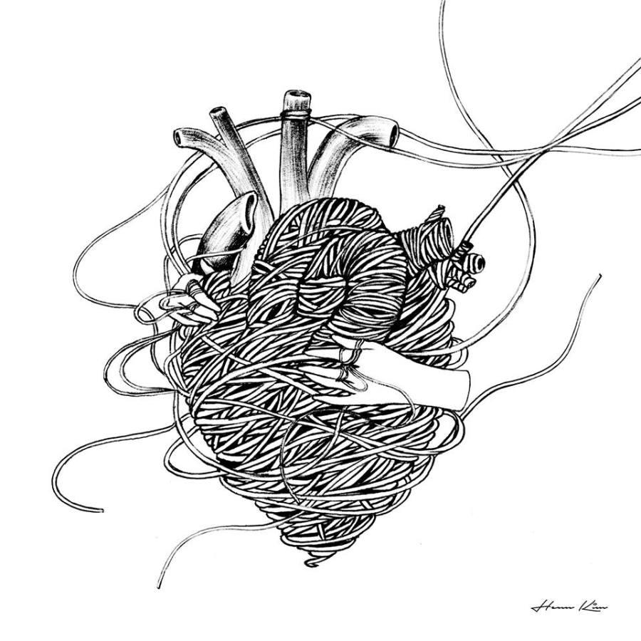Unravel. Ilustración: Henn Kim.