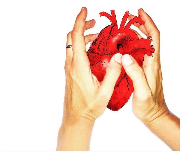El corazón que ríe. Ilustración: Sandra de la Cruz.