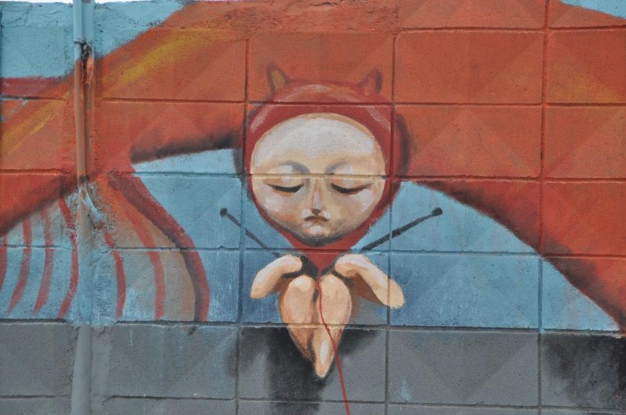 Graffiti. Foto: Lenalensen. CC0 Public Domain.