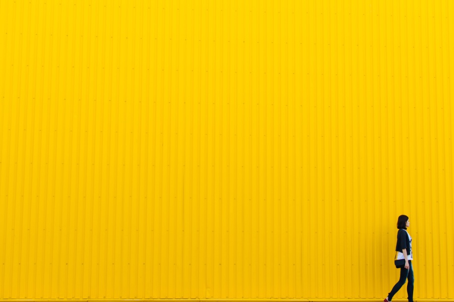 Yellow. Foto: StockSnap. CC0 Public Domain.