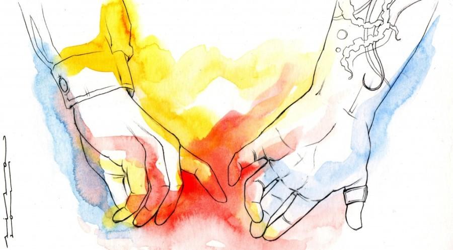 Y DE REPENTE. Ilustración: Siscu Romero. All rights reserved.