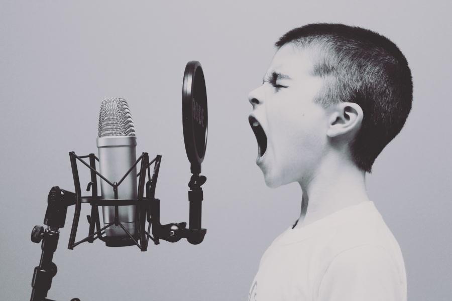 Microphone. Foto: Unsplash. CC0 Public Domain.