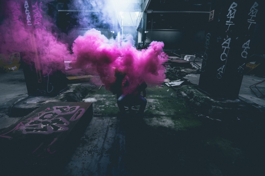 Smoke. Foto: Unsplash. CC0 Public Domain.