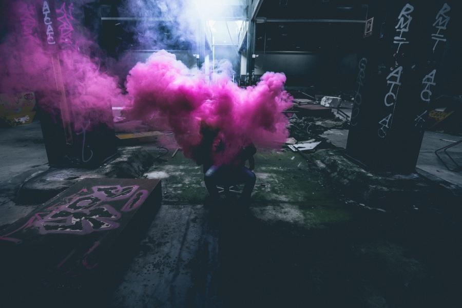 Smoke. Foto: Unsplash. CC0 Public Domain.