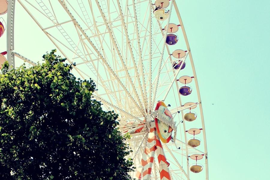 Ferris wheel. Foto: TanteTati. CC0 Public Domain.