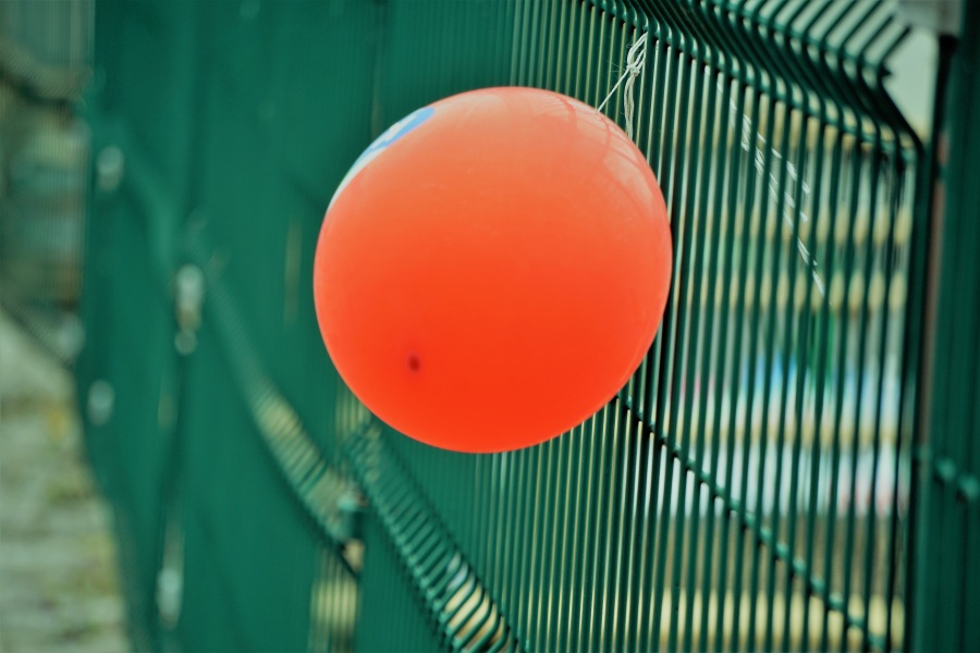 Ballons. Foto: Richard Revel. CC0 Public Domain.