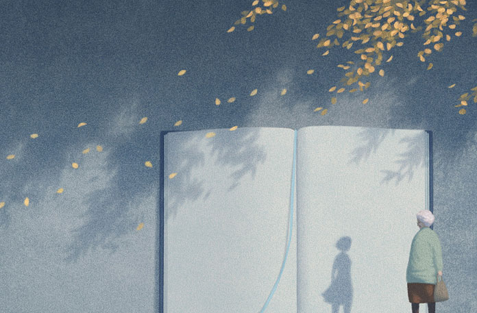 Fall. Illustration: Jungho Lee. All rights reserved.