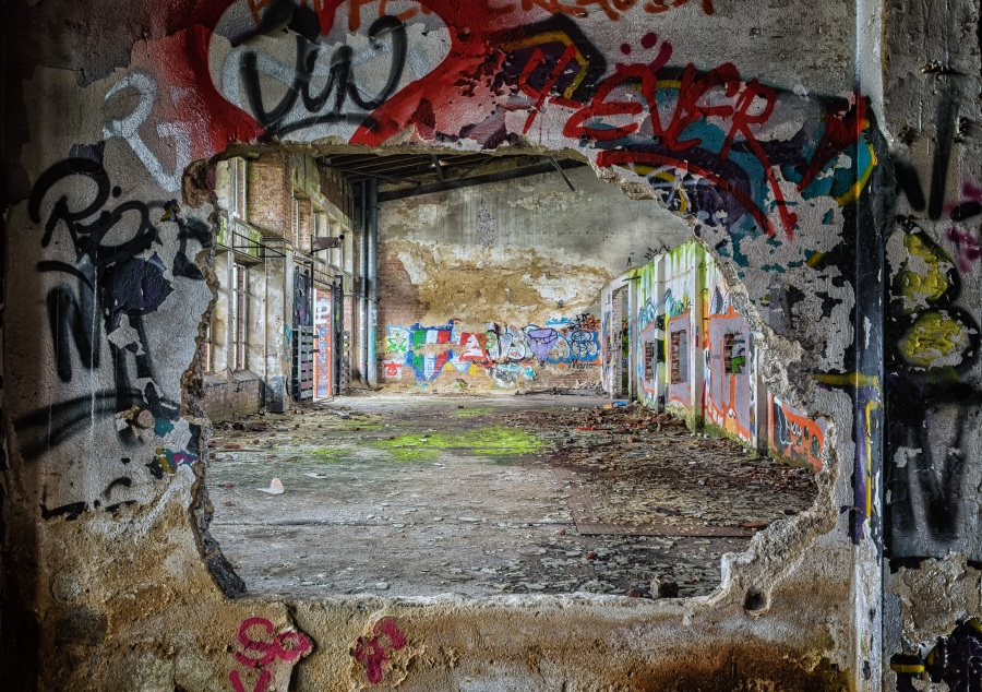 Lost places. Foto: Peter H . CC0 Public Domain.